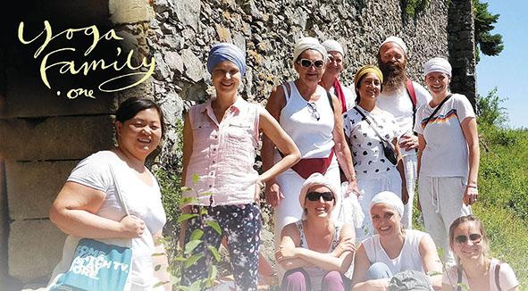 Yogafamily Sanghat days